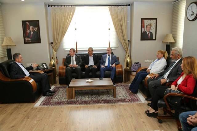 İMDD Elazığ Belediye Başkanı'nı Ziyaret Etti
