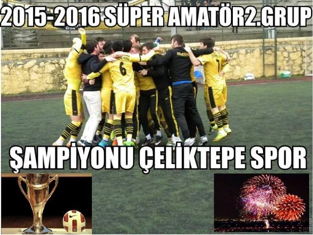 Şampiyon Çeliktepe Spor