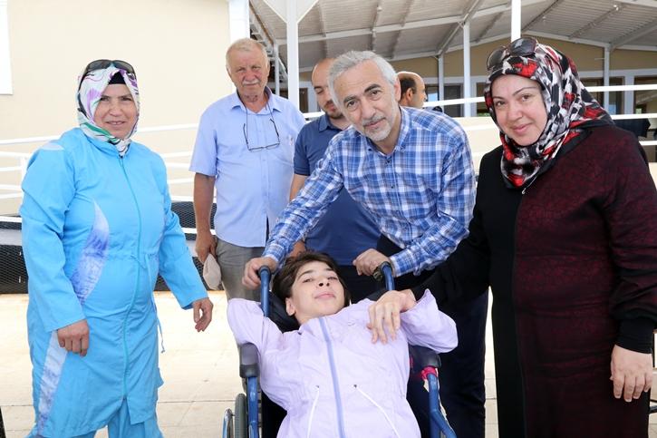 Engelliler Şile Yaz Kampında