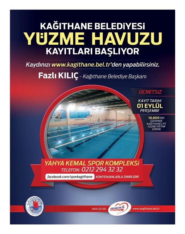 Kağıthane Belediyesi Yüzme Havuzu