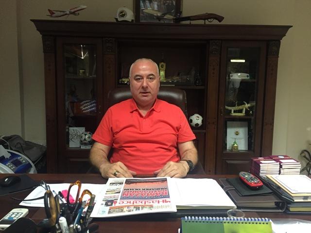 Kağıthane Spor Kulübü Başkanı H.İbrahim Kasapoğlu