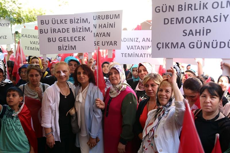 Kağıthaneli Kadınlar Demokrasiye Sahip Çıktı
