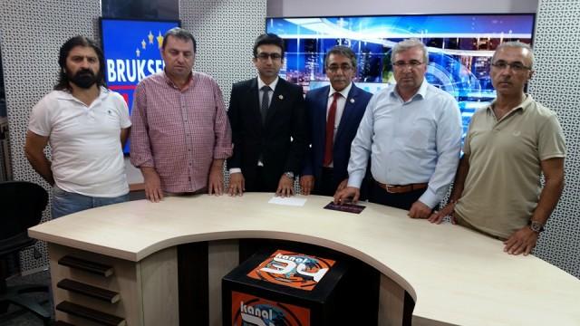 Kanal 34 TV'yi UYGAD ziyaret etti
