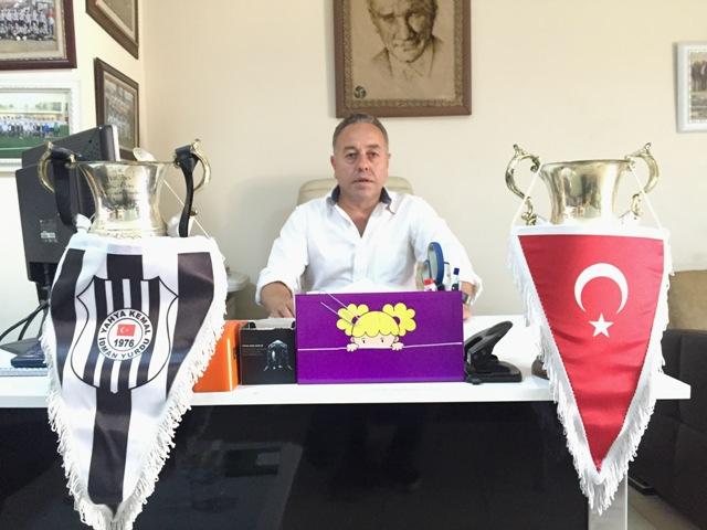 Yahya Kemal Spor Kulubü Başkanı Şefik Kadıoğlu 2016-2017