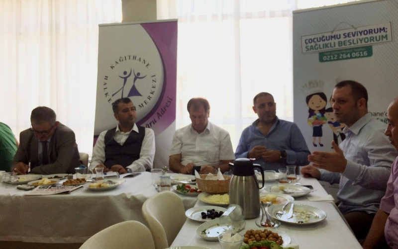Kağıthane Halk Eğitim Merkezi Çeliktepe Mahallesi Muhtarı Ahmet Karamanlı