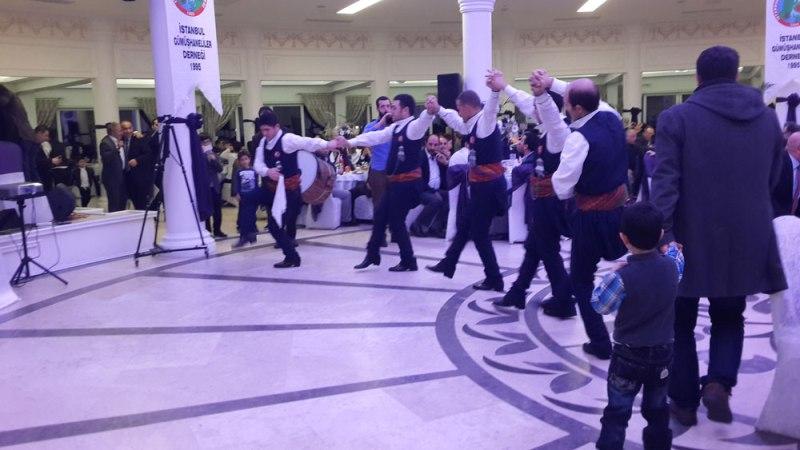 İstanbul Gümüşhaneliler Derneği herfene gecesi
