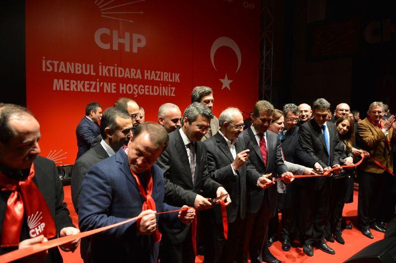chp istanbul il binası acılıs
