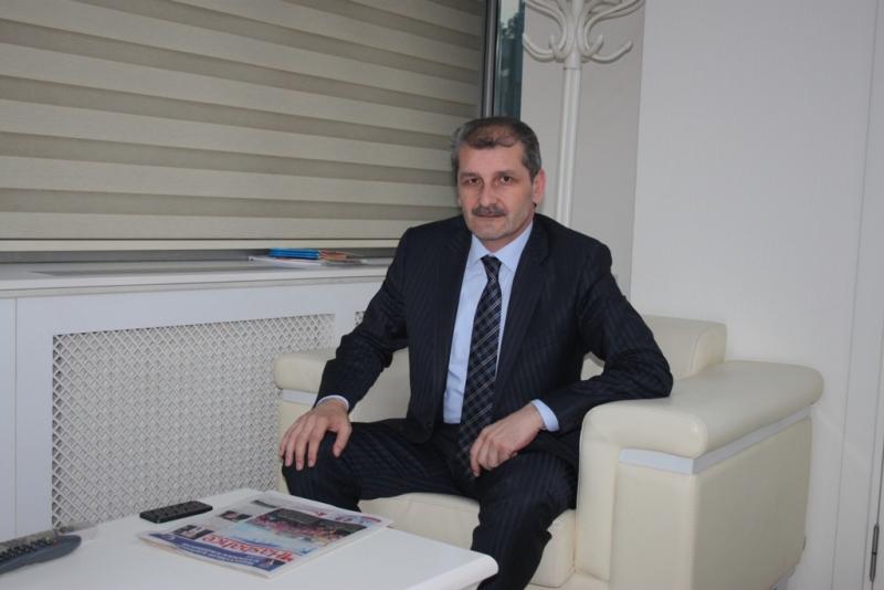 AK Parti İlce Baskanı Sami Ilhan