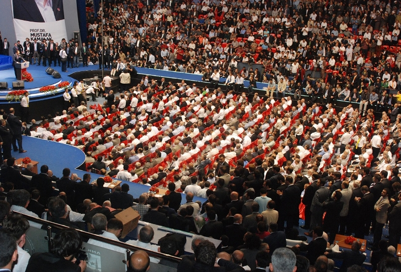 Saadet partisi 5.olagan kongre erbakan