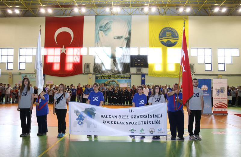 2.Balkan Özel Gereksinimli Çocuklar Spor Oyunları