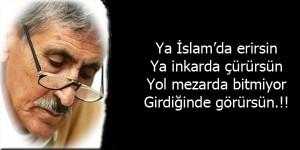 Abdurrahim Karakoç anildi