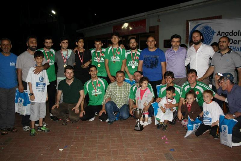 agd kagithane futbol turnuvasi sampiyonu