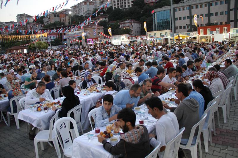 hasbahce de iftar