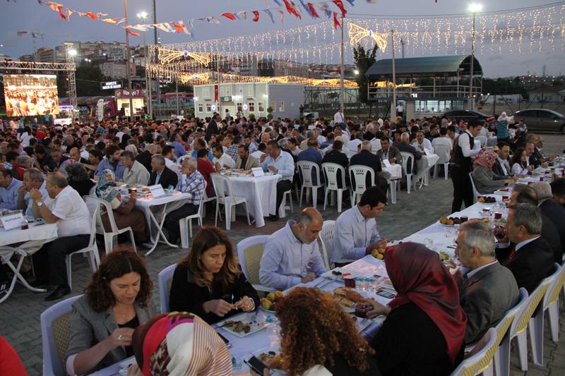 hasbahce de ilk ramazan iftari