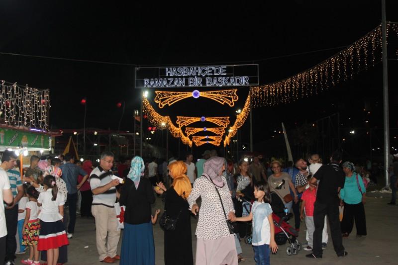 Hasbahcede Ramazan Bir Başkadır