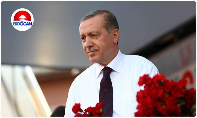 Recep Tayyip Erdoğan Cumhurbaşkanı