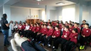 Abide-i Hürriyet Spor Kulübü İlk Yardım Dersi