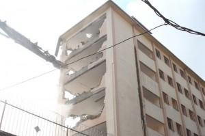 Kağıthane Anadolu İmam Hatip Lisesi Yıkım anı2