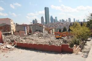 Kağıthane Anadolu İmam Hatip Lisesi yıkım