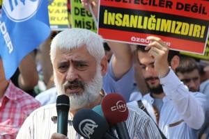 Suriyeli Muhacirler Eylemi Özgürder (5)