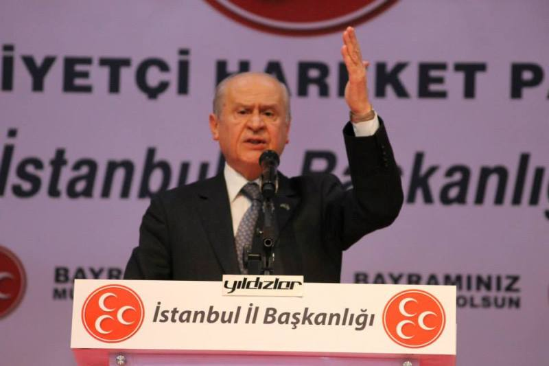 Dr.Devlet Bahçeli İstanbul Abdi İpekçi