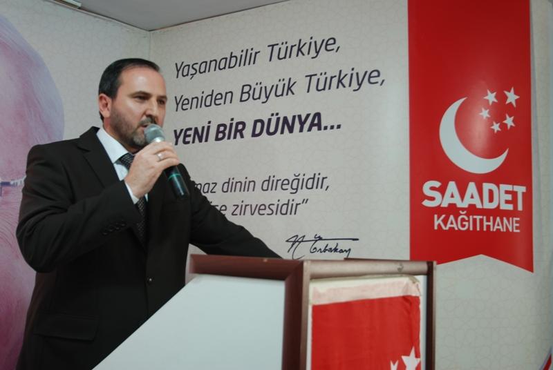 Kağıthane İlçe Başkanı Halid Özgür Atak