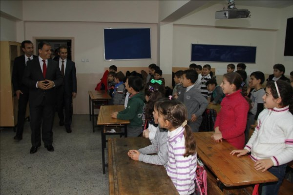 Suriyeli göçmenler için açılan okul Kağıthane