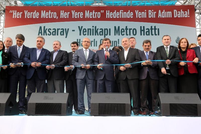 Aksaray-Yenikapı Metro Hattı Açılışı