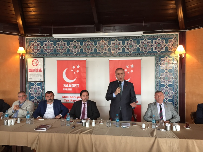 SP 2.Bölge Milletvekili adayı Mustafa Kaya