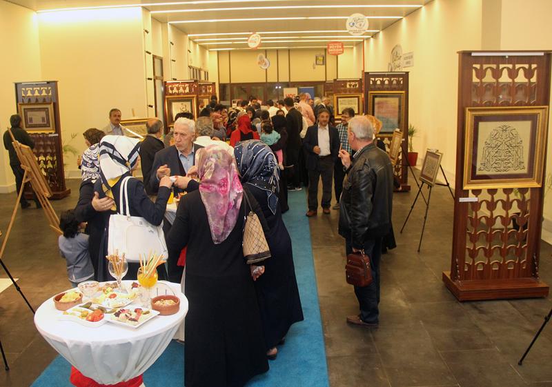 Kuran'ın izinde Hat ve Tezhip Sergisi Gültepe Kültür Merkezi