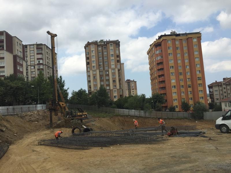 Hamidiye Mahallesi Girne Caddesi Havuz İnşaatı