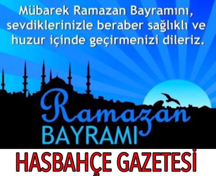 Ramazan Bayramı hasbahçe
