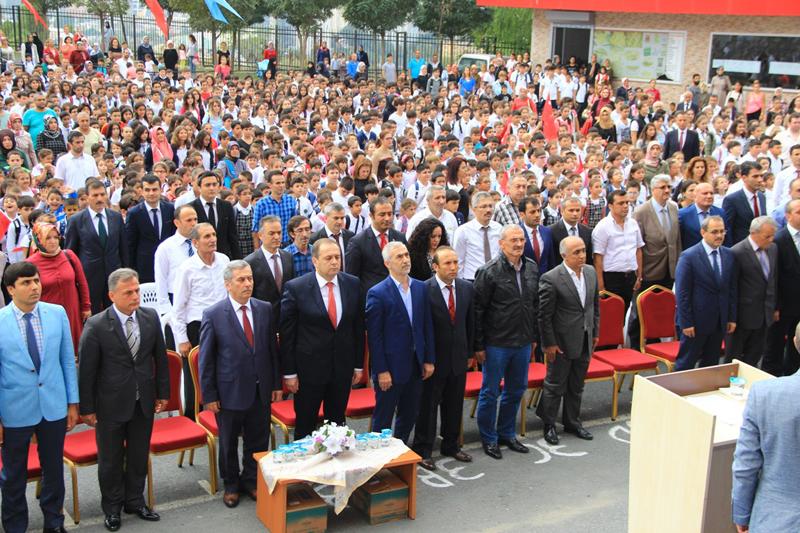 Atatürk Ortaokulu 2015-2016 Eğitim ve Öğretim Yılı Açılış Töreni