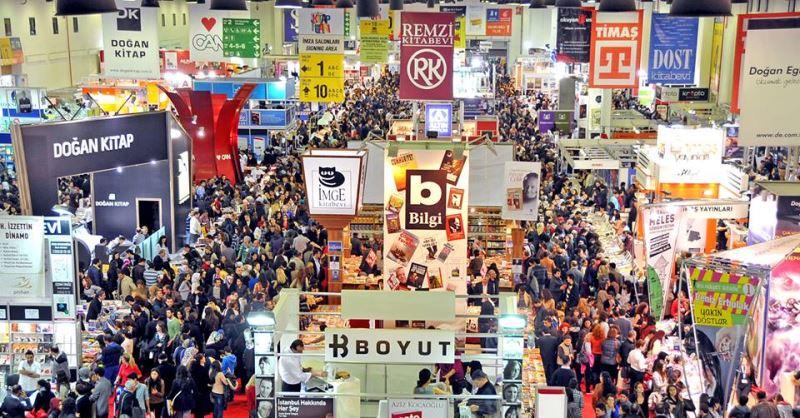 34. Uluslararası İstanbul Kitap Fuarı Sona Erdi