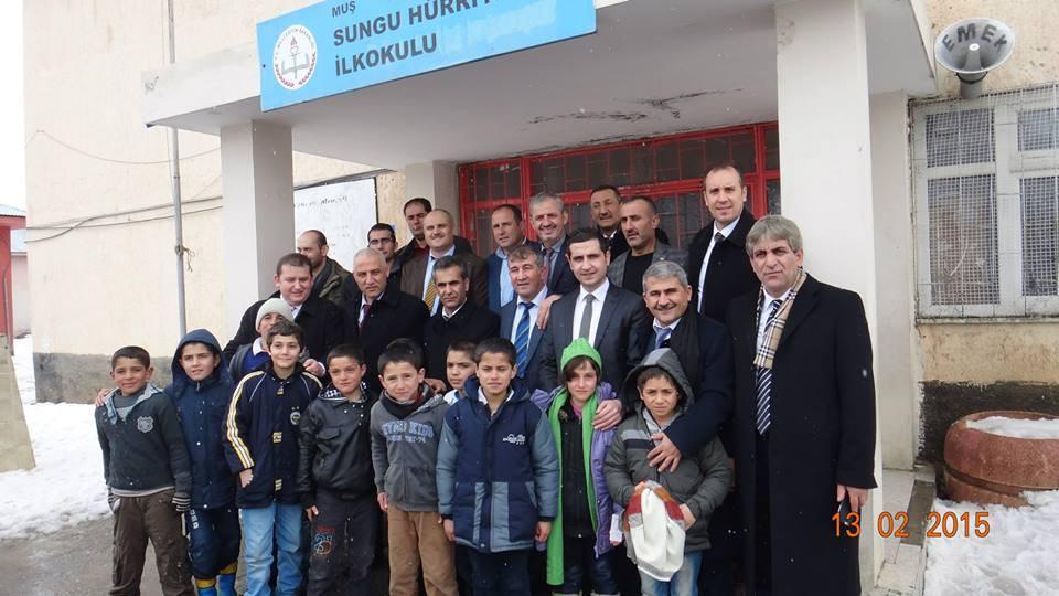 İstanbul Muhtarlar Derneği Muş Üşüyen Elleri Isıtıyoruz