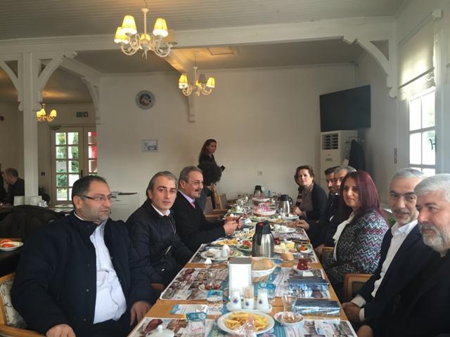 AK Parti Kağıthane İlçe Başkanlığı 10 Ocak Çalışan Gazeteciler Günü'nü Kahvaltı