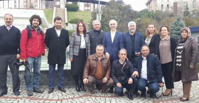 AK Parti Kağıthane İlçe Başkanlığı 10 Ocak Çalışan Gazeteciler Günü'nü Kutladı