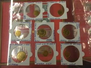 Gültepe Kültür Merkezi Numismatik Sergi Eski Para Koleksiyonu Altın Paralar