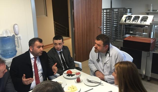 Yeni Huzur Hastanesi Baş Hekimi Dr. Ümit Demirci-Hüseyin Çömlek
