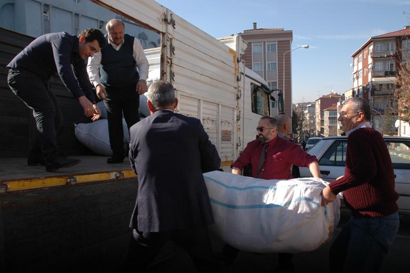 İstanbul Muhtarlar Derneği elazığ yardım kampanyası