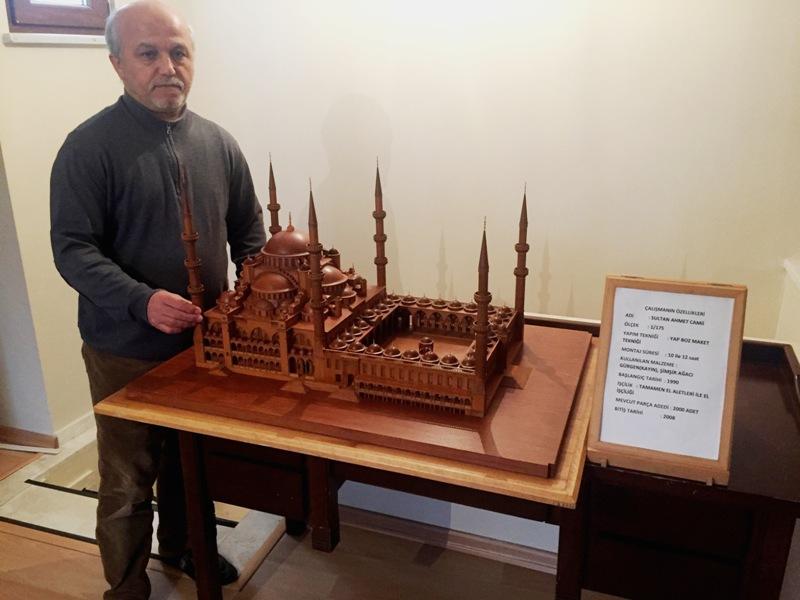 Sultan Ahmet Camii'nin Yeni Mimarı Mürsel Koca Eseri