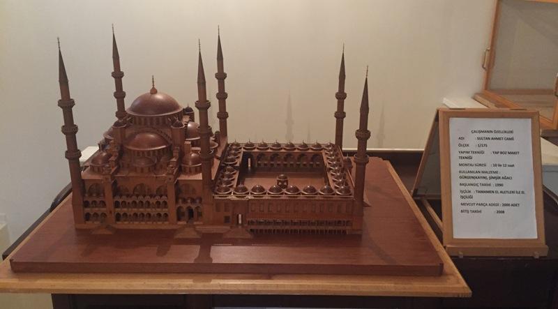 Sultan Ahmet Camii Maketi Mürsel Koca2