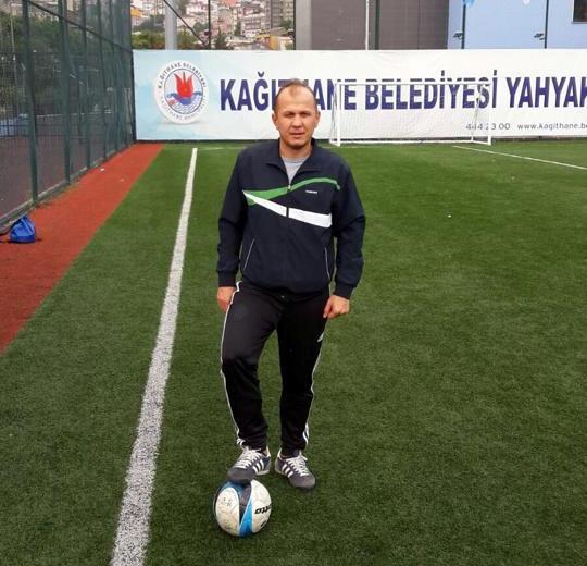 Yahya Kemal Spor Kulubü yöneticisi ve Sportif Direktörü İlhami Kılıç