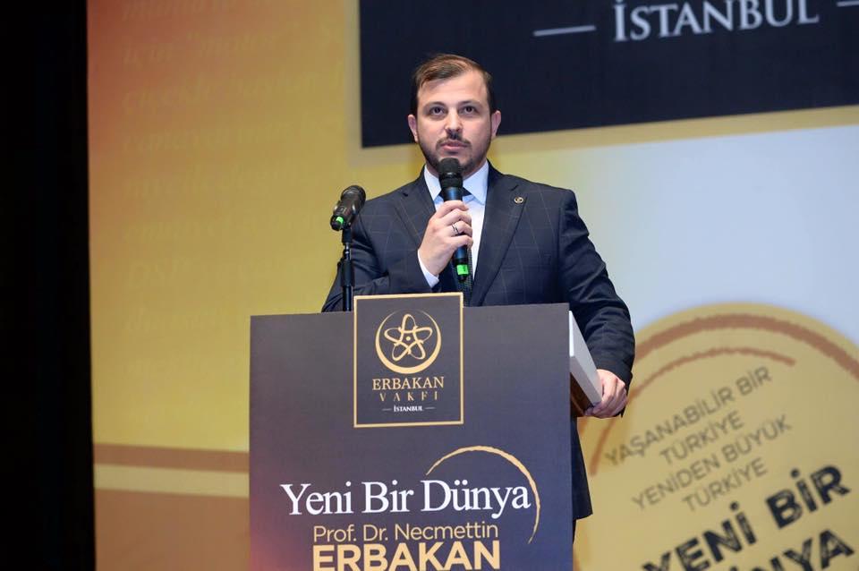 Erbakan Vakfı İstanbul Şubesi Başkanı Hüseyin Terzi