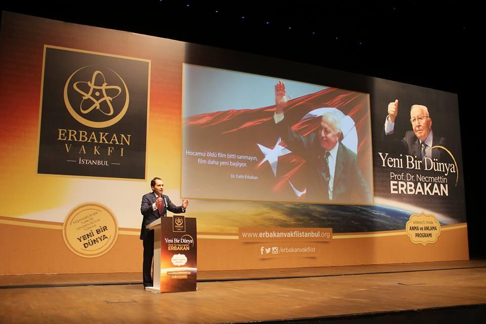 Erbakan Vakfı Genel Başkanı Dr. Fatih Erbakan