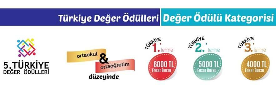 Türkiye Değer Ödülleri Değer Ödülü Kategorisi