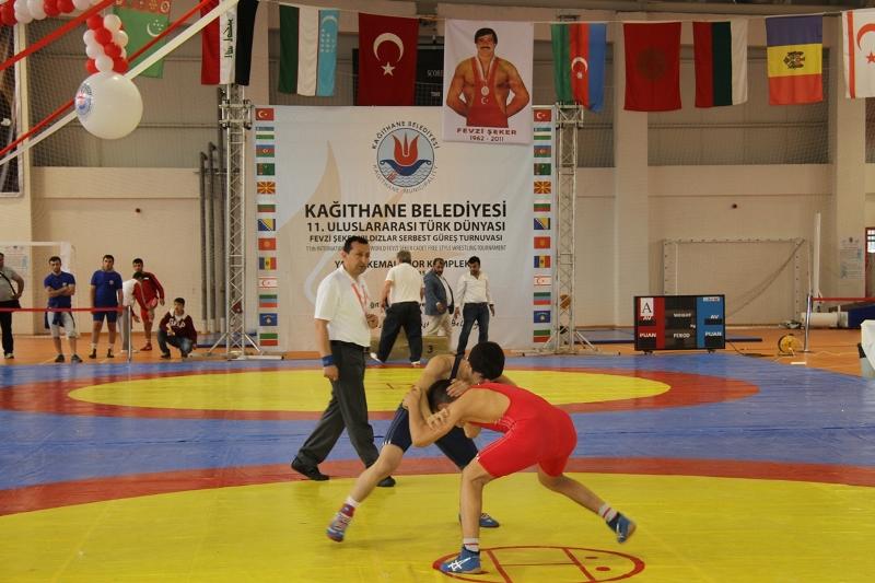 11.Uluslararası Türk Dünyası Fevzi Şeker Güreş Turnuvası