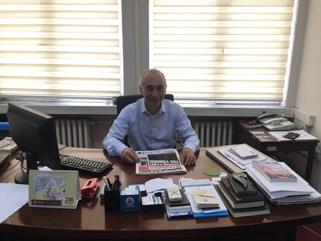 Kağıthane Belediyesi Basın ve Tarih Danışmanı Hüseyin Irmak