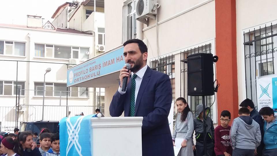 TÜGVA Kağıthane İlçe Başkanı Fatih Öztürk