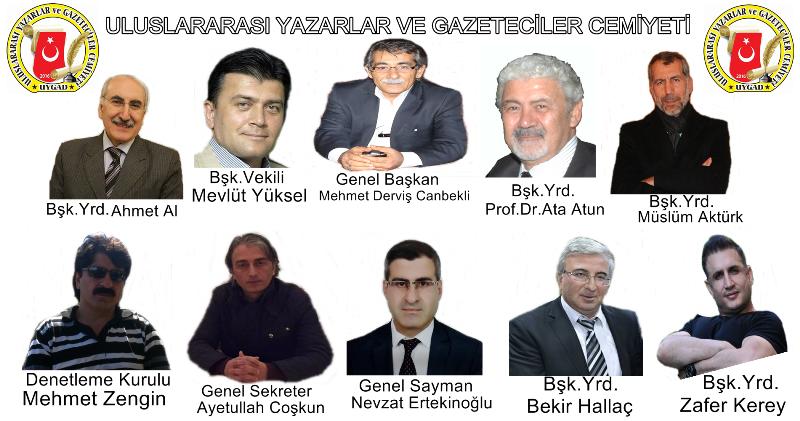 Uluslararası Gazeteciler ve Yazarlar Cemiyeti (UYGAD) Kuruldu